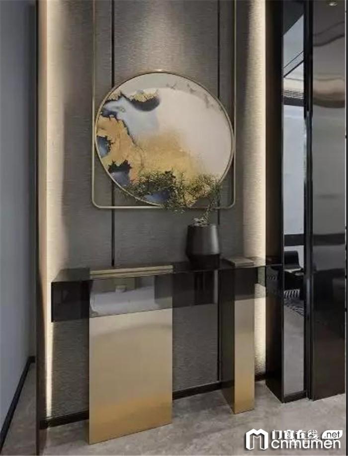 富轩门窗带来现代新中式装修案例赏析,让人眼前一亮!
