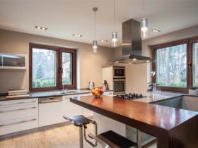森鹰铝包木窗窗系列装修效果图