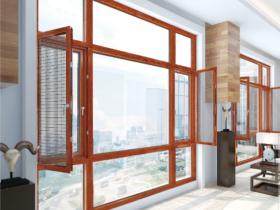尚粤门窗系统断桥窗纱一体系列装修效果图