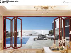 尚粤门窗系统75重型折叠门系列