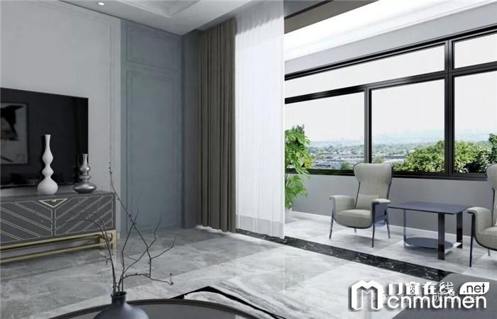 亮阁门窗高级灰,现代审美与古典文化的完美融合