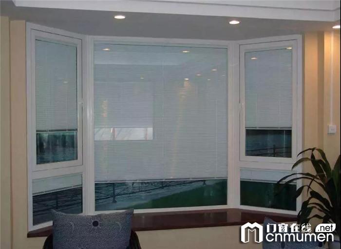 诗尼曼中空百叶铝合金门窗,营造具有个性化私密空间