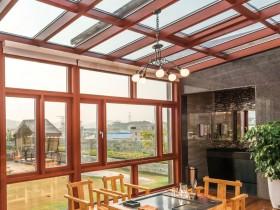 佩朗门窗各种风格阳光房装修效果图
