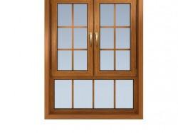 良木道门窗KN75内开内倾窗
