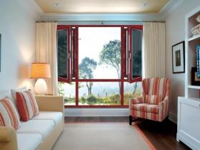 裕景门窗断桥复合窗纱系列产品效果图