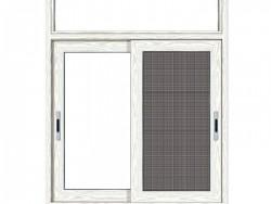 朗盛门窗-平开窗135断桥A-104