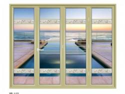 朗盛门窗折叠门-大圆弧A-076