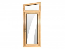 德优特门窗DYT85铝包木平开门
