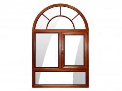 德优特门窗DYT100木包铝系统窗