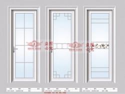 加维斯门窗-90内弧平开门