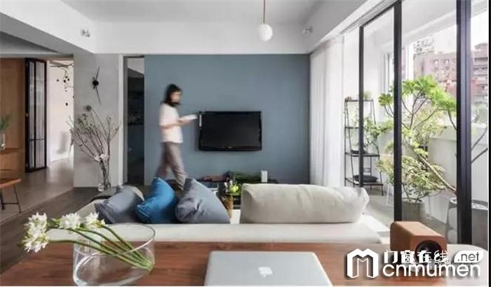 富轩教你用好门窗隔断,老公寓也能变小清新住宅!
