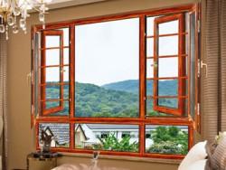 德维西尼门窗135断桥窗纱一体