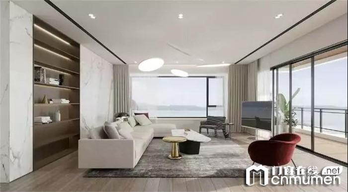 富轩门窗带你享受美景,营造空间的舒适温馨感