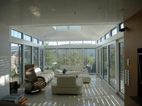 汉斯诺克铝木复合阳光房装修效果图