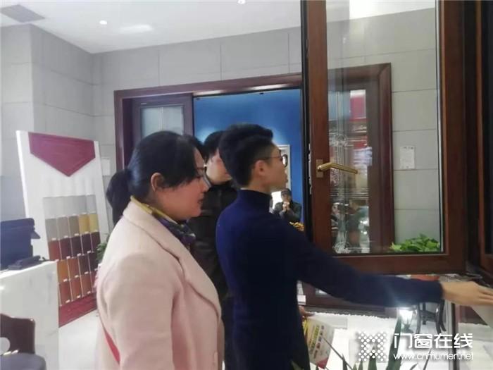 帝奥斯门窗江西南昌店盛大开业!带来高品质产品和高标准服务