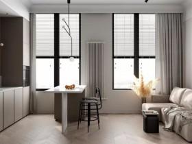 富轩门窗:黑与白搭配效果图,经典又充满高级感!
