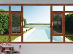 博雅敏格85断桥窗纱一体平开窗系列