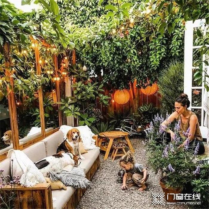 富轩门窗--渴望拥有一个属于自己的小院子,享受阳光和植被的美好