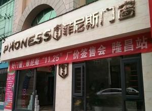 菲尼斯门窗四川隆昌专卖店