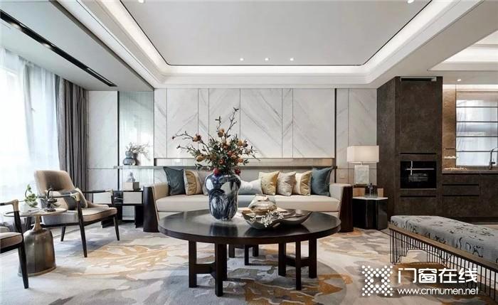 富轩门窗,简单的线条勾勒出纯净完美的空间世界,体现精致的装饰风格