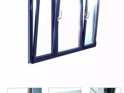 智赢欧势65系列内开内倒隔音断桥铝窗定制门窗厂家