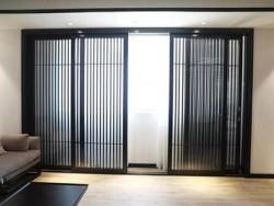新中式门窗_断桥铝复古门窗