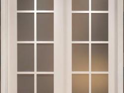 平板雕花门 贴纸门价格  白色实木复合烤漆门