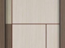 花梨木实木复合门   杭州木质平板门