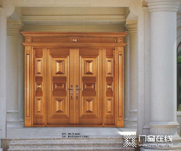 晟王铜门2