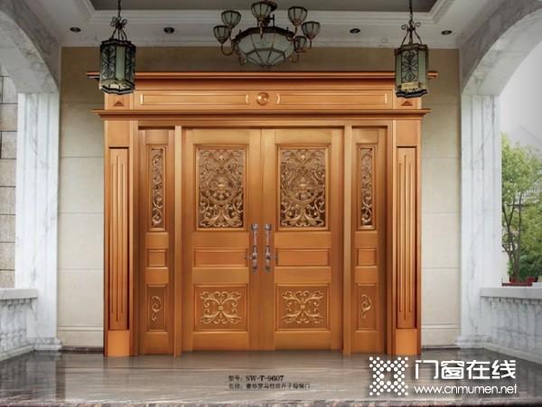 晟王铜门3