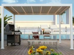 怡墅铝合金车棚雨棚全国可定制安装