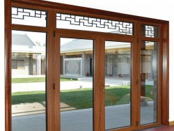 著名品牌铝合金门窗-铂煊门窗-平开门