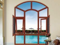 佛山品牌铝合金门窗-南铂望门窗-平开窗