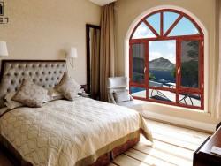 六扇名门铝合金平开窗断桥铝合金门窗隔音隔热平开窗