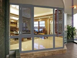 佛山十大品牌铝合金门窗-志合鲁班门窗-平开窗