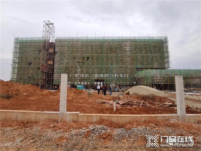富轩门窗江西近百亩新厂房拔地而起,预计明年正式投产!