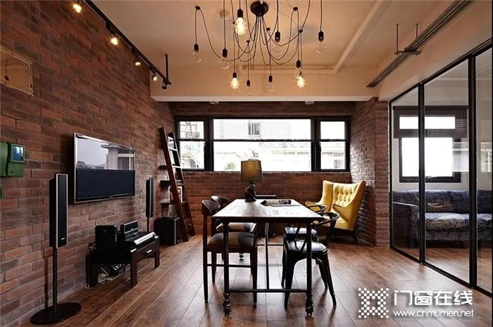 德技优品极简的门窗设计,打造个性工业风住宅