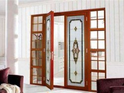 佛山品牌铝合金门窗-南铂望门窗-平开门