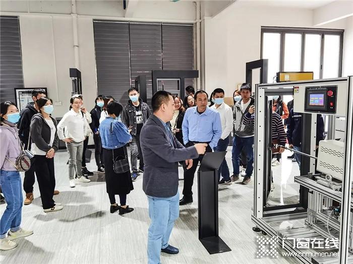 聚志共赢!热烈欢迎惠州优秀经销商莅临安格尔总部参观考察
