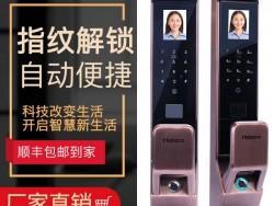 弘博汇指纹锁 D10人脸识别锁指纹密码锁