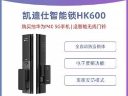 凯迪仕智能锁 HK600全自动指纹锁家用防盗门锁