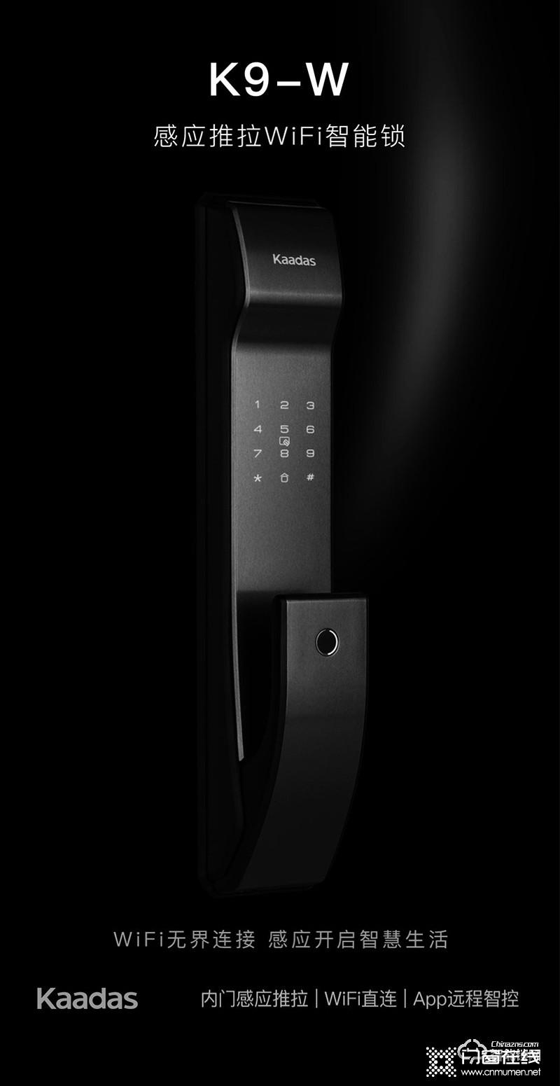 凯迪仕智能锁 K9-W推拉式家用防盗门锁指纹锁密码锁.jpg
