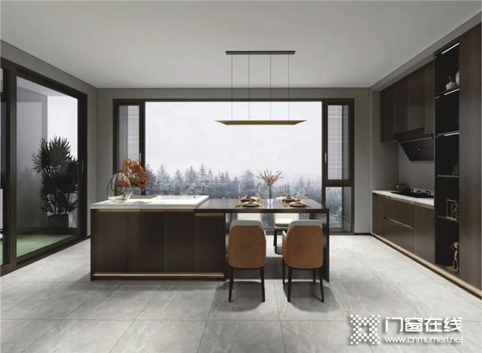 厨房门窗选择欧迪克,尽情享受烹饪的美好!