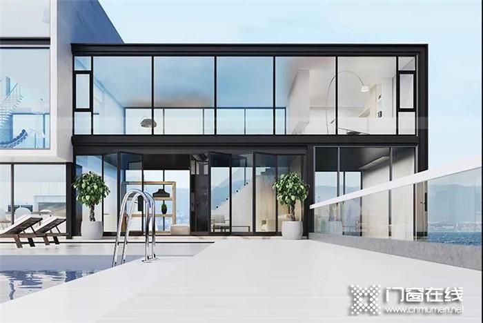 客厅的高级感,来自罗兰西尼系统门窗