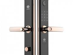 兰和指纹锁K08 远程操控锁 家用防盗门锁