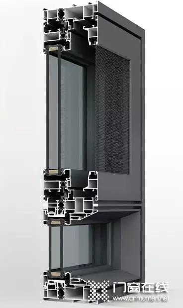 裕安门窗极简118系统平开窗:至静门窗 致敬生活