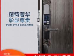 科罗威智能锁 LKV-D02别墅双开门指纹锁滑盖欧式锁