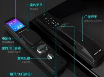 2021首款新品 | 安嘉AN-X9全自动可视猫眼智能锁