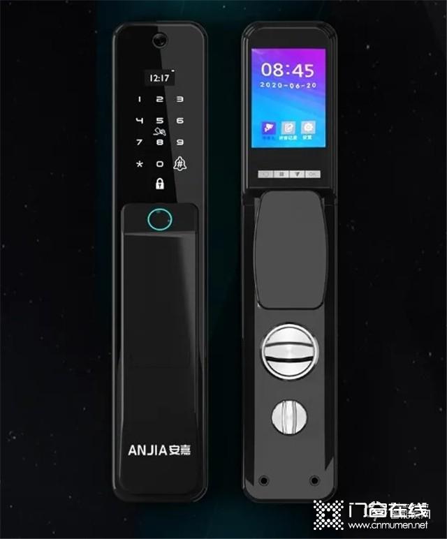 2021首款新品   安嘉AN-X9全自动可视猫眼智能锁.jpg