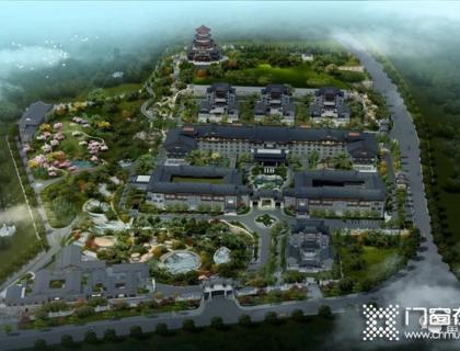 斥资20亿!福建华强山庄酒店联手富轩全屋门窗打造超五星级温泉度假酒店!